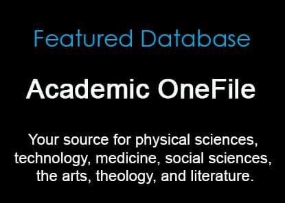 Featured Database: Academic OneFile